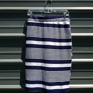 Daisy Fuentes striped pencil skirt